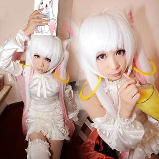魔法少女まどか☆マギカ キュウべえ QB擬人化 コスプレ衣装