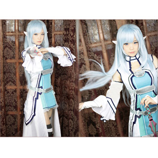 Sword Art Online Asuna Yuuki Alfheim Online Cosplay Costume