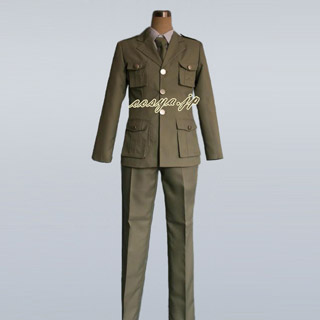 Axis Powers Hetalia South Italy Romano (South) Uniform Cosplay Costume
