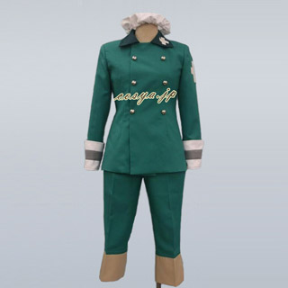 Axis Powers Hetalia Switzerland Uniform Cosplay Costume