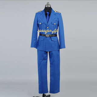 Axis Powers Hetalia Italy Army Coat Uniform Cosplay Costume