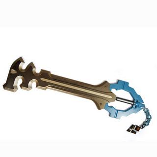キングダム ハーツ(KINGDOM HEARTS)/KH 鍵 アクア キーブレード 鍵武器 コスプレ道具