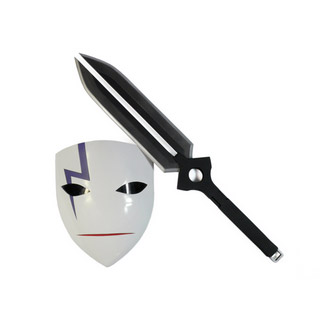 DARKER THAN BLACK -黒の契約者- 黒(ヘイ)/李舜生(リ・シェンシュン) 武器 黒 コスプレ道具