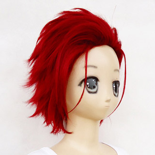 K Mikoto Suoh Wine Red heat-resistant new materials Short Cosplay Wig