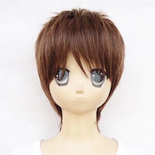 Kuroko's Basketball Teppei Kiyoshi Brown new material Short Cosplay Wig