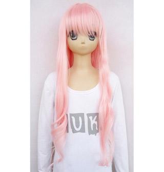 Macross Frontier Sheryl Nome Pink heat new materials Carl Long Cosplay Wig