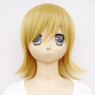 Code:Breaker Toki Yellow heat-resistant new materials Medium Cosplay Wig