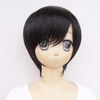 Code:Breaker Rei Ogami Black heat-resistant new materials Short Cosplay Wig