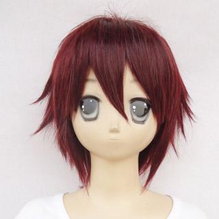 Hiiro no Kakera Takuma Onizaki Wine red heat-resistant new materials Short Cosplay Wig