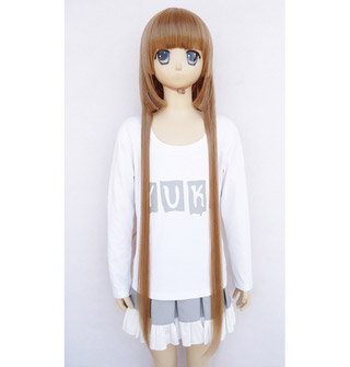 Blast of Tempest Aika Fuwa heat-resistant new materials Long Cosplay Wig