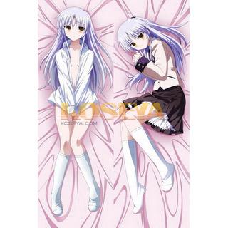 Angel Beats! 天使(てんし) / 立華 かなで(たちばな かなで) 等身大抱き枕カバー、オリジナル抱き枕カバー、アニメ抱き枕