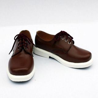 K/ケイ 伊佐那 社(いさな やしろ) ブラウン 合皮 ゴム底 低ヒール コスプレ靴