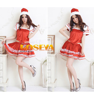 Santa Claus Costume Fancy Dress Christmas Costume