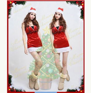 Santa Claus Costume One Piece Christmas Costume