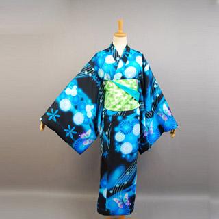 Vocaloid Hatsune Miku -Project DIVA- Yukata Cosplay Costume