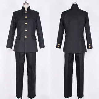Lychee Light Club Black Uniform Cosplay Costume
