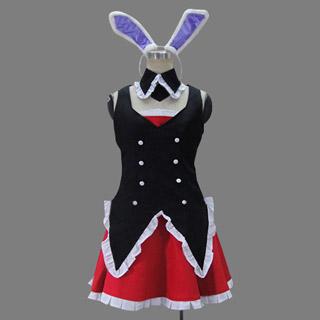 問題児たちが異世界から来るそうですよ? 黒ウサギ(くろウサギ)コスプレ衣装
