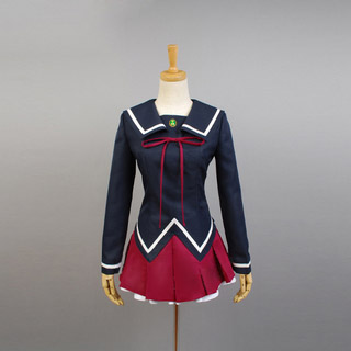 K Project Ashinaka High School Kukuri Yukizome Cosplay Costume