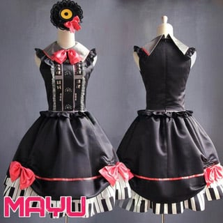 VOCALOID MAYU Punk Cosplay Costume