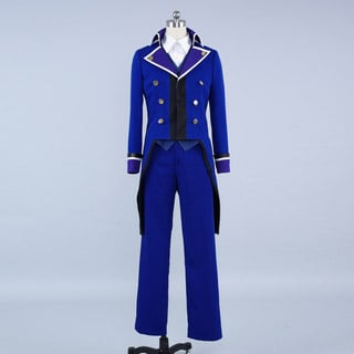 Test Version Ten Only K Blue Scepter4 Cosplay Costume