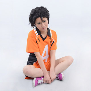 Haikyu!! Nishinoya Yuu Karasuno High School Uniform Cosplay Costume