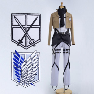 Test Version Five Only Attack on Titan Mikasa Ackerman Cosplay Costume