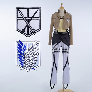Test Version Five Only Attack on Titan Eren Jäger Cosplay Costume