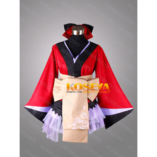 VOCALOID Megurine Ruka Project DIVA 2nd butterfly kimono Cosplay Costume