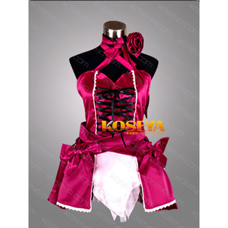 VOCALOID Project DIVA2 Hatsune Miku vintage dress Cosplay Costume