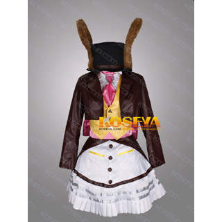 Alice: Madness Returns lucky Rabbit Cosplay Costume ver2