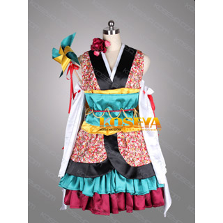 VOCALOID GUMI Hana Roh Kimono Cosplay Costume