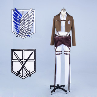 Attack on Titan Arumin Arureruto Cosplay Costume