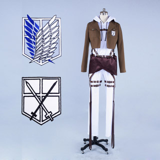 Test Version Five Only Attack on Titan Annie Leonhardt Cosplay Costume