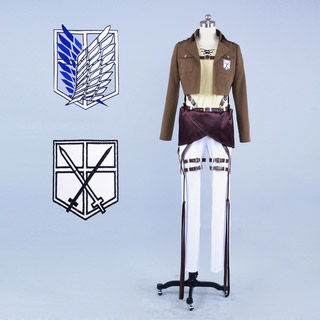 Attack on Titan Eren Jäger Cosplay Costume ver2