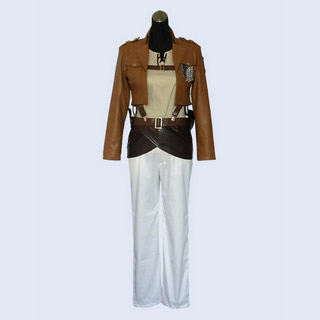 Attack on Titan Survey Corps Eren Jäger Cosplay Costume