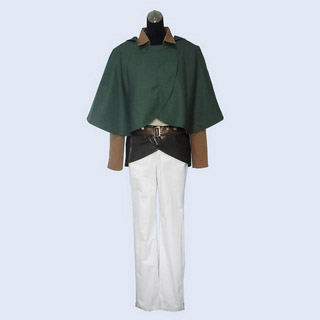 Attack on Titan Survey Corps Eren Jäger Cosplay Costume ver2