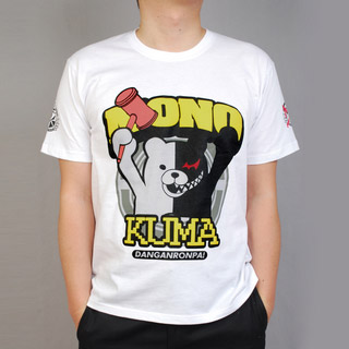 ダンガンロンパ 希望の学園と絶望の高校生 モノクマ Tシャツ コスプレ衣装