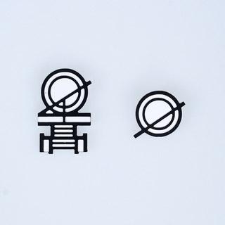 スーパーダンガンロンパ2 さよなら絶望学園 澪田唯吹 徽章 コスプレ道具