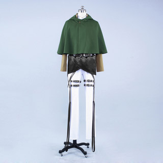 Attack on Titan Survey Corps Mikasa Ackerman Cosplay Costume