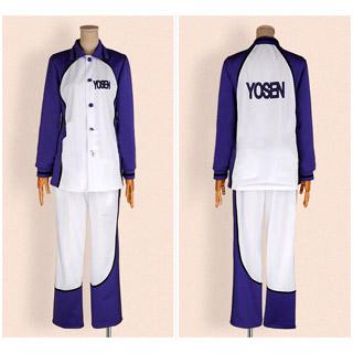 黒子のバスケ 陽泉高校スポーツウェア 紫原敦(むらさきばら あつし) コスプレ衣装