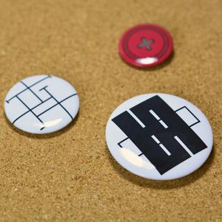 ダンガンロンパ 希望の学園と絶望の高校生 江ノ島盾子(えのしま じゅんこ) 徽章/バッジ グッズ コスプレ道具
