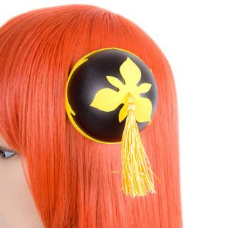 劇場版銀魂完結篇 神楽  髪飾り 三葉 コスプレ道具