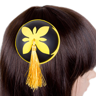 劇場版銀魂完結篇 神楽(かぐら) 髪飾り 四葉 コスプレ道具