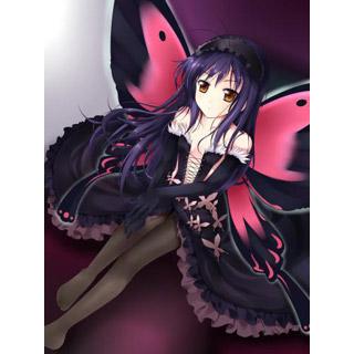 アクセル・ワールド 黒雪姫(クロユキヒメ) ベッドカバー、オリジナル布団カバー、アニメシーツ