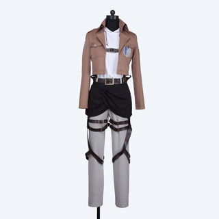 Attack on Titan Survey Legion Anni Leonhart Cosplay Costume