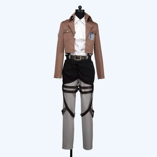Attack on Titan Survey Legion Rivai Cosplay Costume