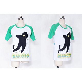 即納◆ Free! 橘 真琴(たちばな まこと) Tシャツ コスプレ衣装 XL/XXLサイズ