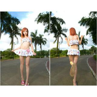とある科学の超電磁砲S 御坂 美琴(みさか みこと) 水泳衣装 フリーサイズ コスプレ衣装