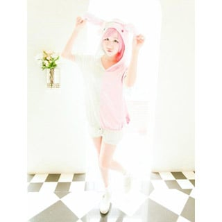 Danganronpa Watchtower Pink Cosplay Costume