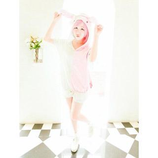ダンガンロンパ 希望の学園と絶望の高校生 モノミ ピンク衣装 コスプレ衣装